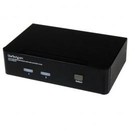 StarTech.com KVM switch écran clavier souris, 2 ports HDMI, USB et Audio