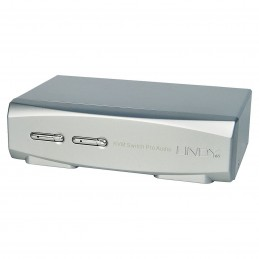 Lindy Switch KVM Pro DisplayPort 1.2 / USB 2.0 / Audio (2 ports)