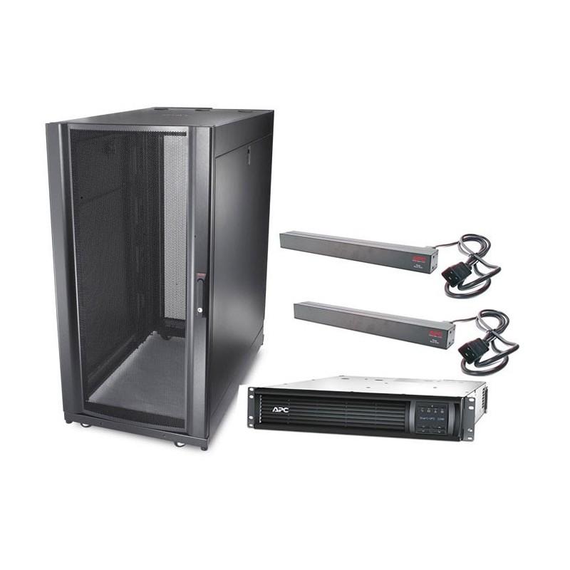APC Smart-UPS Rack-Mount 2200VA LCD 230V + APC NetShelter SX
