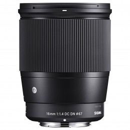 SIGMA 16mm F1.4 DC DN Noir monture Micro 4/3