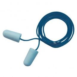 Bouchons 3M E-A-Rsoft Détectables Bleus Cordés - Boite De 200