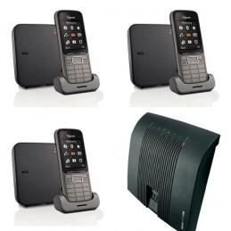 Tiptel 2/8 + 3 Gigaset SL750 Pro