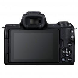 Canon EOS M50 Noir + EF-M 15-45 mm IS STM Noir + SB130 + SanDisk SD 16 Go
