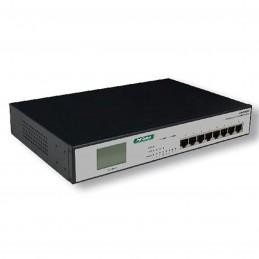 MCL Switch Gigabit PoE Rackable (8 ports)