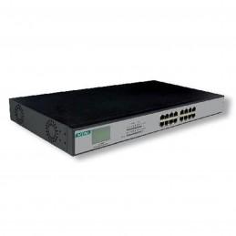 MCL Switch Gigabit PoE Rackable (16 ports)