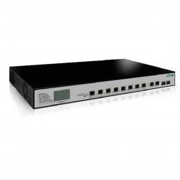 MCL Switch Gigabit PoE Rackable (8+2 ports + 2 SFP)