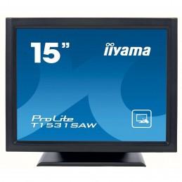 "iiyama 15"" LED Tactile onde accoustique - ProLite"