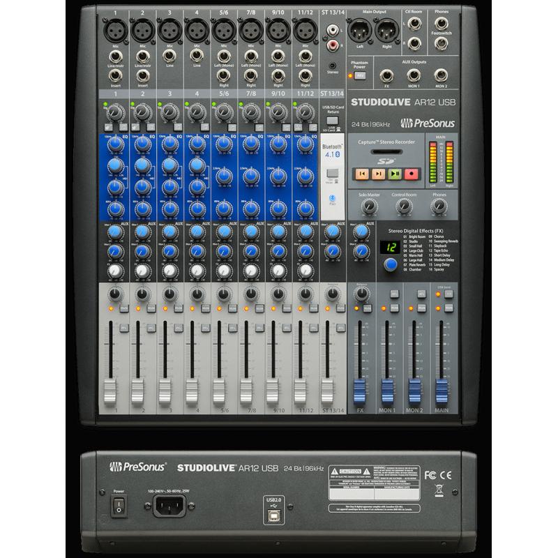 PreSonus StudioLive AR12 USB,abidjan