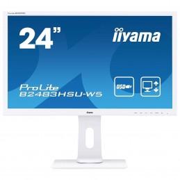 "iiyama 24"" LED - ProLite B2483HSU-W5 voomstore.ci"
