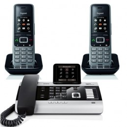 Pack Gigaset DX800A + 2 Gigaset S650H Pro