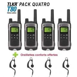 Pack De 4 Motorola TLKR T80