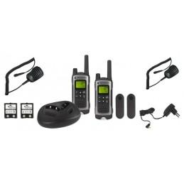 Pack Motorola TLKR T80 + 2 Micros Déportés