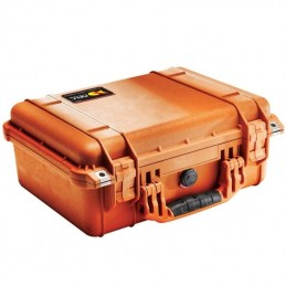 Valise Peli 1450 Orange Avec Mousse VOOMSTORE.CI