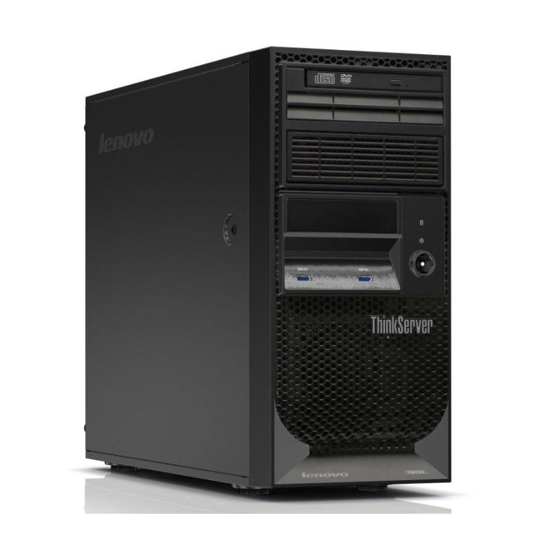 Lenovo ThinkServer TS150 - tour - Xeon E3-1225V6 3.3 GHz - 8 Go