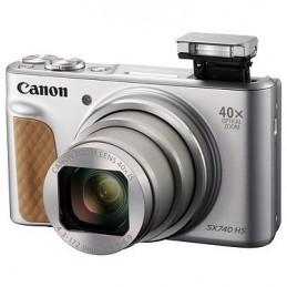 Canon PowerShot SX740 HS Argent + Etui +