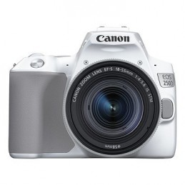 Canon EOS 250D Blanc + 18-55 IS STM