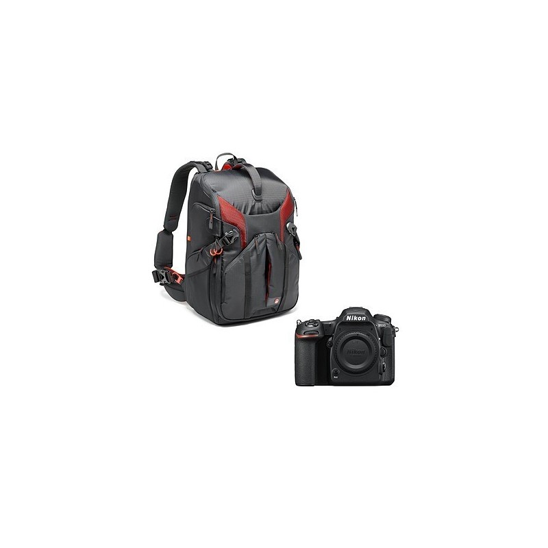 Nikon D500 + Manfrotto Pro Light Sling MB
