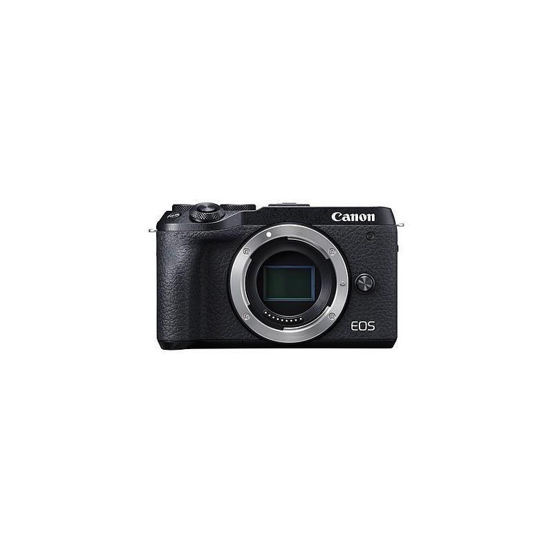 Canon EOS M6 Mark II Noir  VOOMSTORE.CI