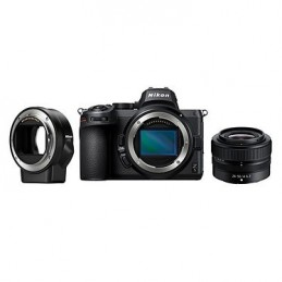 Nikon Z 5 + 24-50 + FTZ