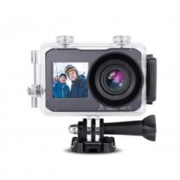 X'TREM Caméra sport 4K CUHDW4KDUALSELFIE Noir et