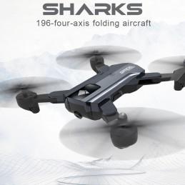 YONIS Drone Caméra Double objectif Noir Y-10350