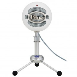 Blue Microphones SnowBall Blanc voomstore ci