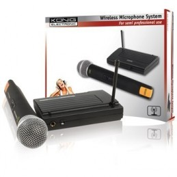 König Wireless Microphone System Solo voomstore ci