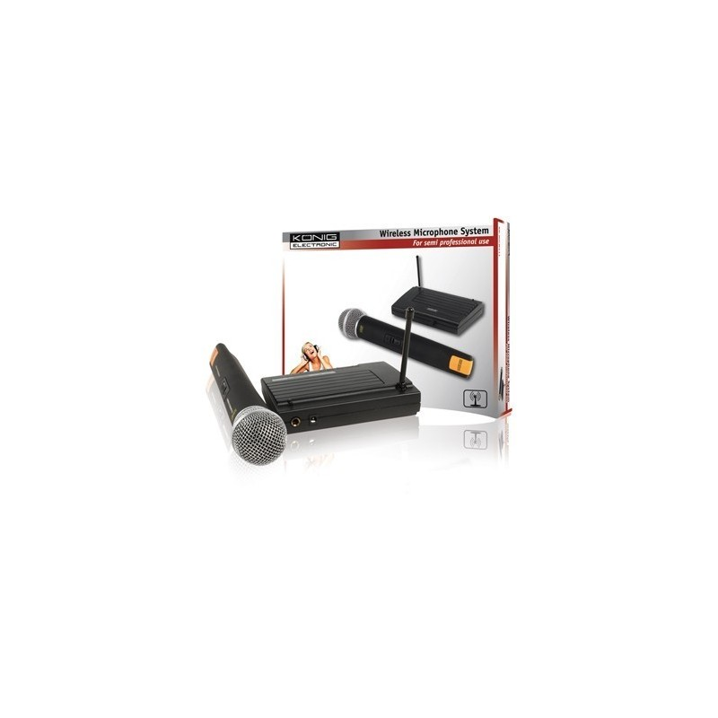 König Wireless Microphone System Solo,abidjan