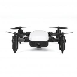 Yonis Drone RC Quadcopter Pliable Blanc Y-10336