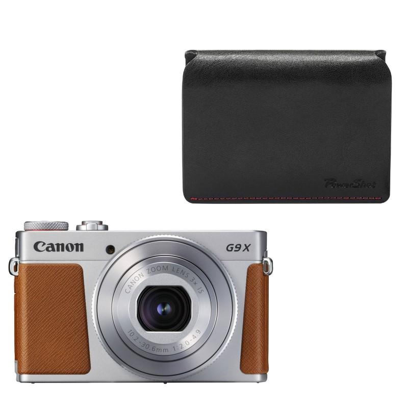 Canon PowerShot G9 X Mark II Argent +