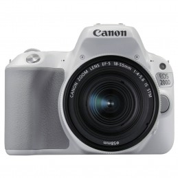 Canon EOS 200D Blanc + 18-55 IS STM_VOOMSTORE.CI