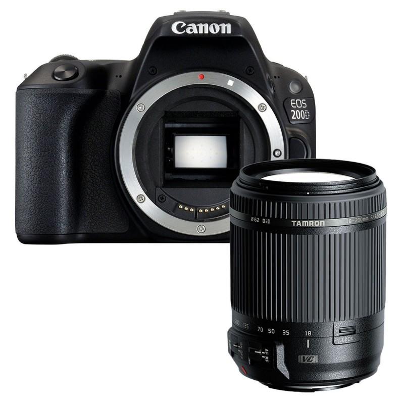 Canon EOS 200D + Tamron 18-200mm F/3.5-6.3 Di II
