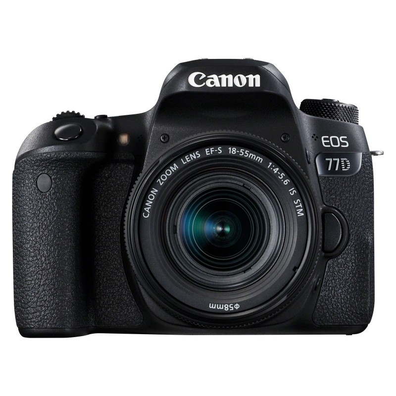 Canon EOS 77D + 18-55 IS