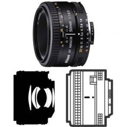Nikon AF Nikkor 50mm f/1.8D - Objectif standard ultra compact