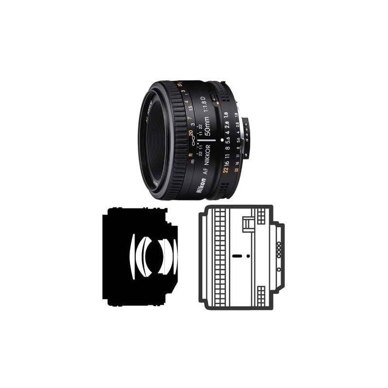 Nikon AF Nikkor 50mm f/1.8D - Objectif standard ultra