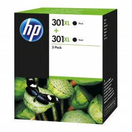 HP 301XL Pack de 2 Noir (D8J45AE) voomstore.ci