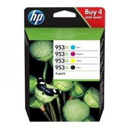 HP 953XL Noir/3 couleurs (3HZ52AE) voomstore.ci