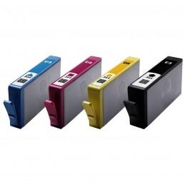 HP 364 Pack de 4 Noir, Cyan, Magenta, Jaune (N9J73AE) voomstore.ci