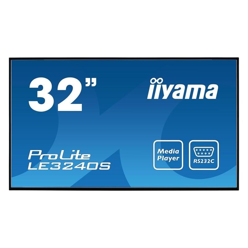 "iiyama 32"" LED - Prolite LE3240S-B2  VOOMSTORE.CI"