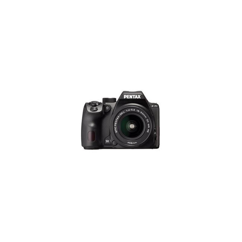 Pentax K70 + DA 18-50 mm WR