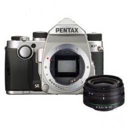 Pentax KP + DA 18-50mm Argent_VOOMSTORE.CI