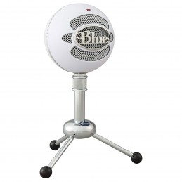 Blue Microphones Snowball Blanc voomstore.ci