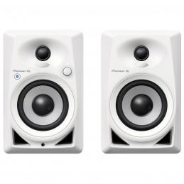 Pioneer DJ DM-40BT Blanc voomstore.ci