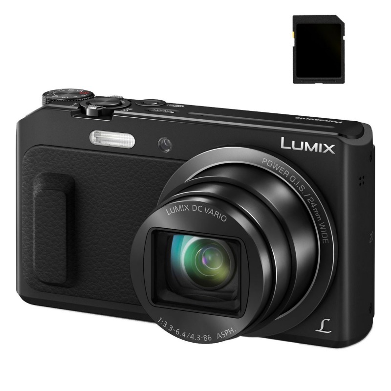 Panasonic DMC-TZ57 Noir SD