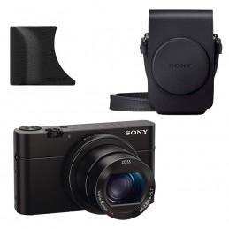 Sony Cyber-shot DSC-RX100M III + Étui LCS-RXG + Poignée AG-R2