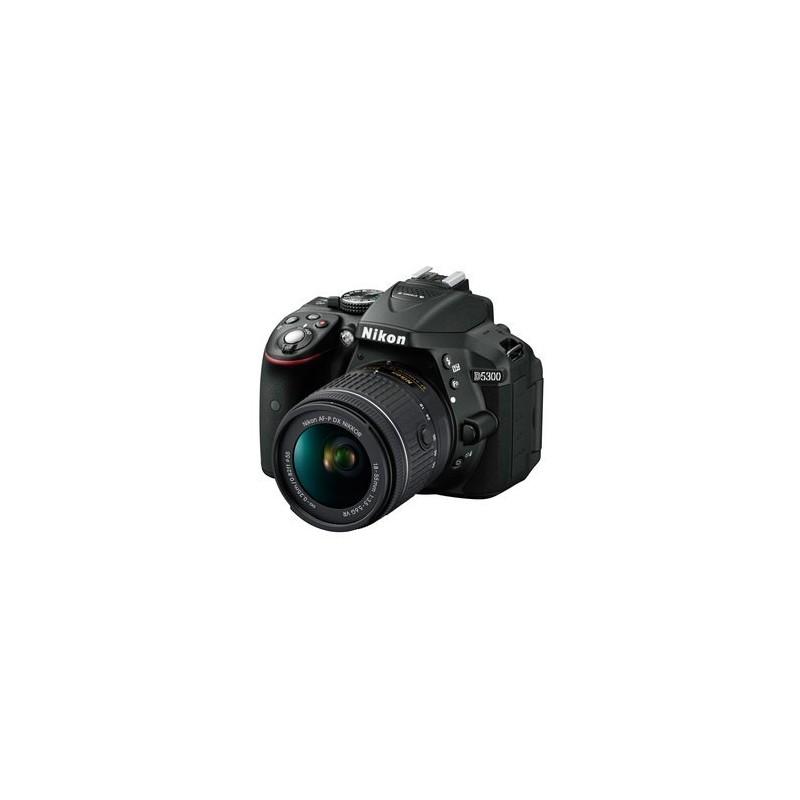 Nikon D5300 + AF-P 18-55MM F/3.5-5.6G