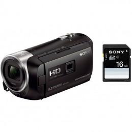 Sony HDR-PJ410B + carte microSD 16 Go