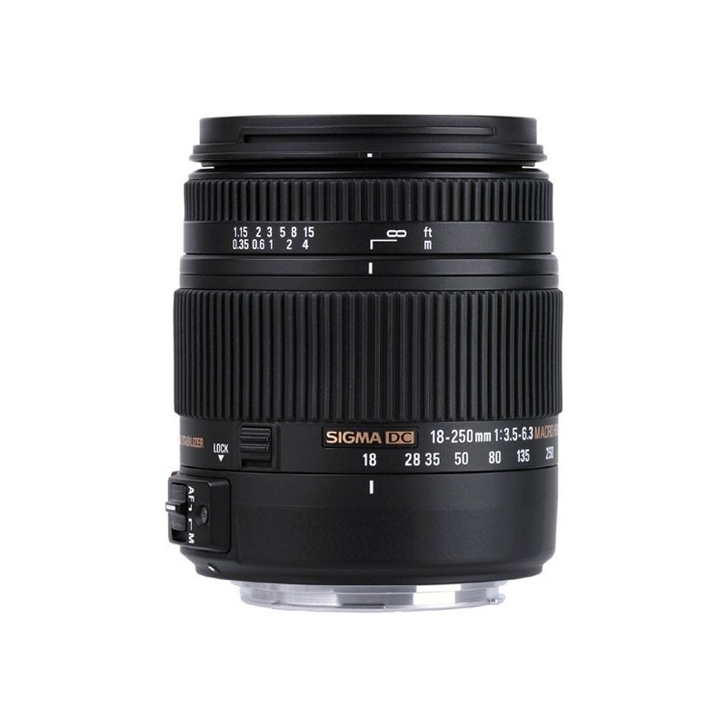 Sigma 18-250mm F3,5-6,3 DC Macro OS HSM monture