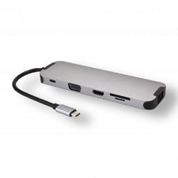 Générique Station d'accueil USB-C multi-ports 10 en 1  VOOMSTORE.CI