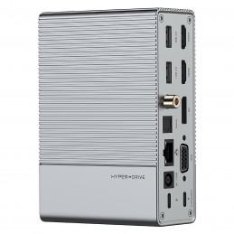 HyperDrive Station d'accueil USB-C 18-en-1 GEN2 / Concentrateur USB-C  SUR COMMANDE- LIVRE SOUS 2 A 3 SEMAINES